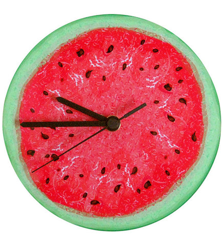Handcrafted Watermelon Clock for Kids
