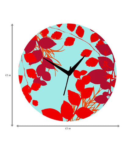 Handcrafted Scarlet Mapel Clock for Kids