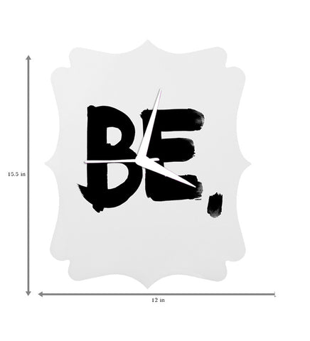 Handcrafted BE Yourself Clock for Kids