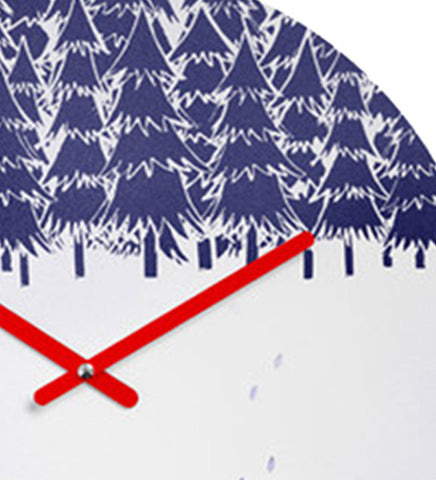 Handcrafted Christmas Tree Clock for Kids