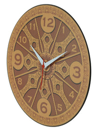 Handcrafted Konark  Wheel Wall Clock