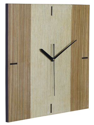 RANGRAGE Handcrafted Square Wooden Wall Clock
