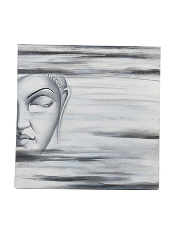 Hand-painted Aura of Buddh Classic Painting