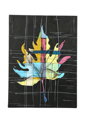 Hand-painted Contrasting Maple Classic Painting - RANGRAGE