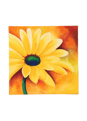 Hand-painted Blooming Sunflower Classic Painting