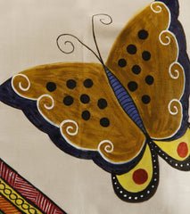 Hand-painted Butterfly Cushion Covers (Set of 4) - RANGRAGE