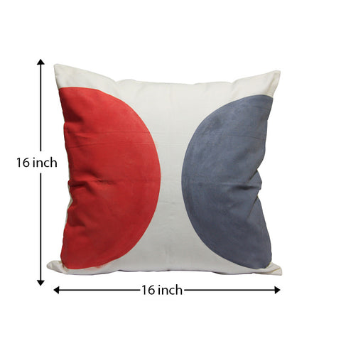 Handcrafted Half Moon Cushion Covers (Set of 2)