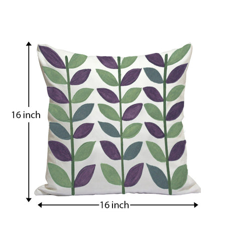 Handcrafted Festival Spring Cushion Covers (Set of 2)