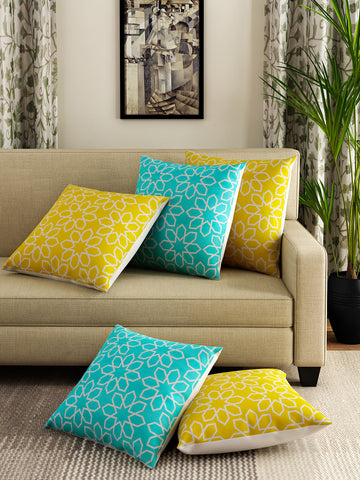Handcrafted Geometric Fest Cushion Covers