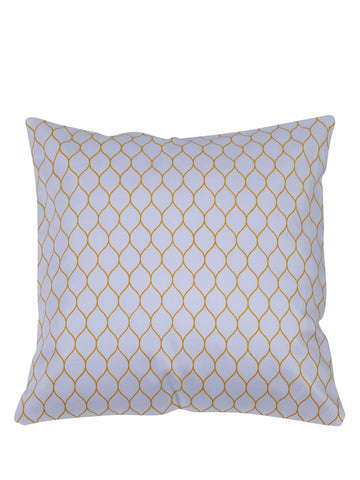 Handcrafted Geometric Elegance Cushion Cover