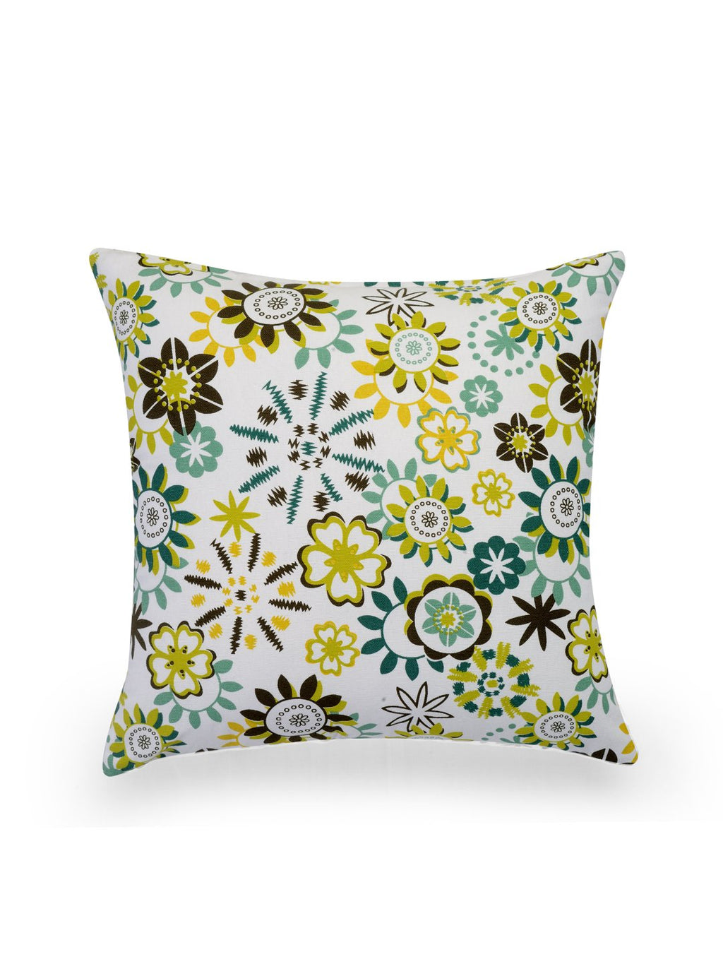 Hand-painted Flair Oasis Cushion Covers (Set of 5) - RANGRAGE - 2