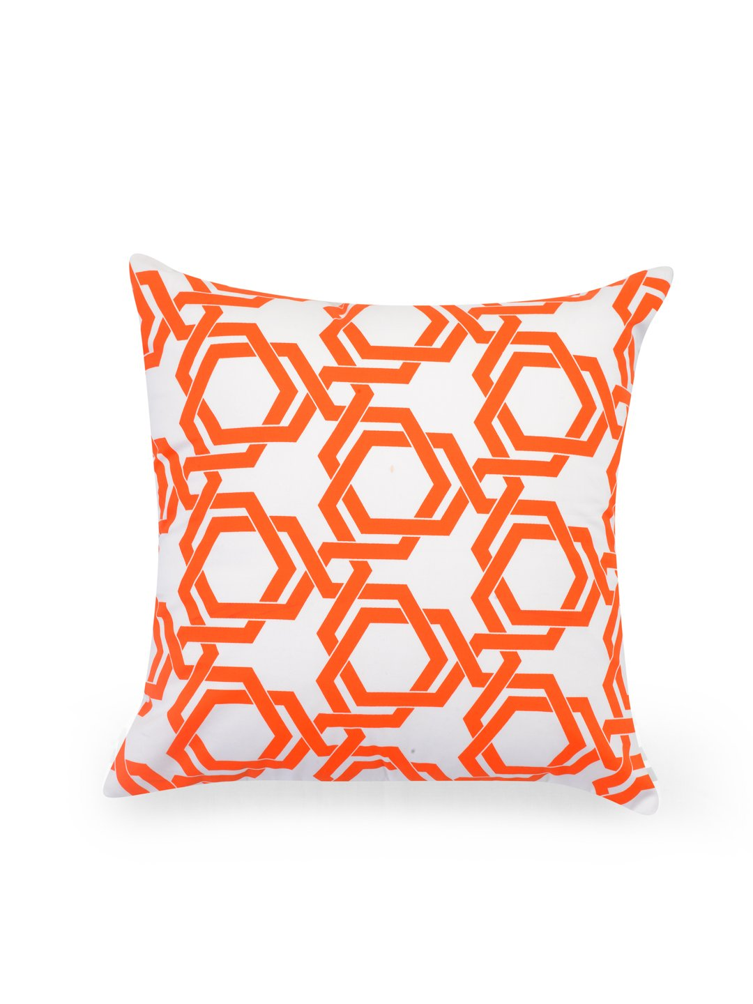 Hand-painted Tangerine Delight Cushion Covers (Set of 5) - RANGRAGE - 2