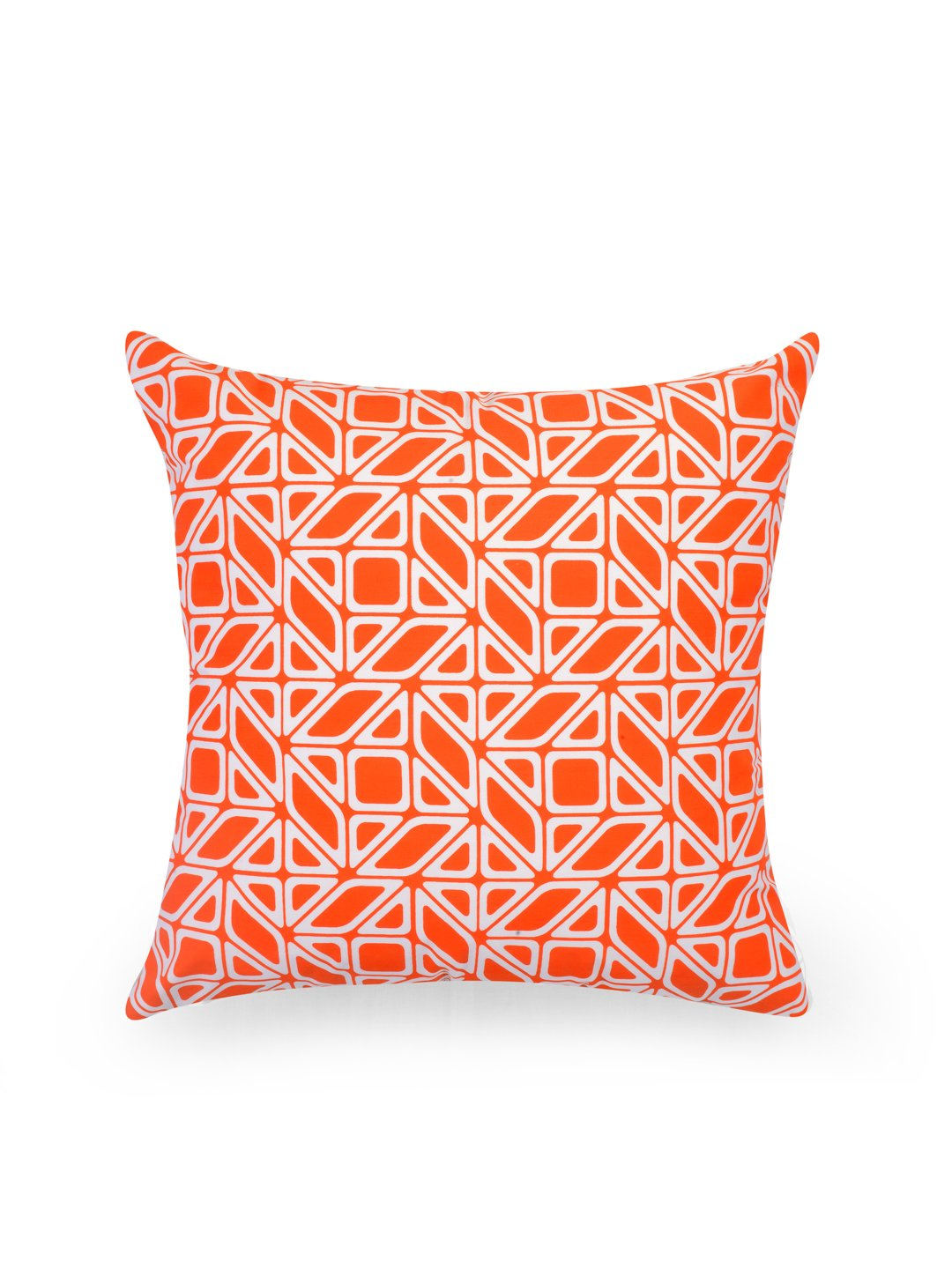 Hand-painted Tangerine Delight Cushion Covers (Set of 5) - RANGRAGE - 5