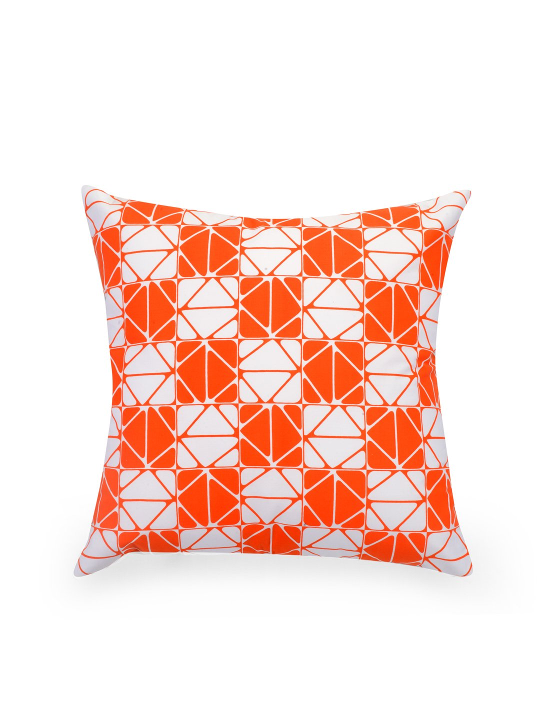 Hand-painted Tangerine Delight Cushion Covers (Set of 5) - RANGRAGE - 6