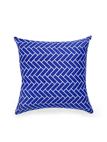 Handcrafted Sapphire Delight Cushion Covers (Set of 5)