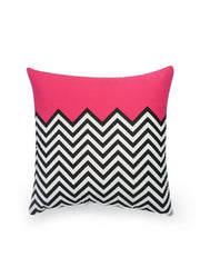 Hand-painted ZigZag Fest Delight Cushion Covers (Set of 5) - RANGRAGE - 2