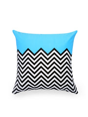 Hand-painted ZigZag Fest Delight Cushion Covers (Set of 5) - RANGRAGE - 3