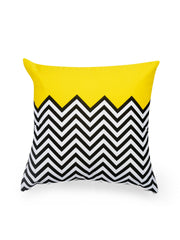 Hand-painted ZigZag Fest Delight Cushion Covers (Set of 5) - RANGRAGE - 4