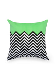 Hand-painted ZigZag Fest Delight Cushion Covers (Set of 5) - RANGRAGE - 5