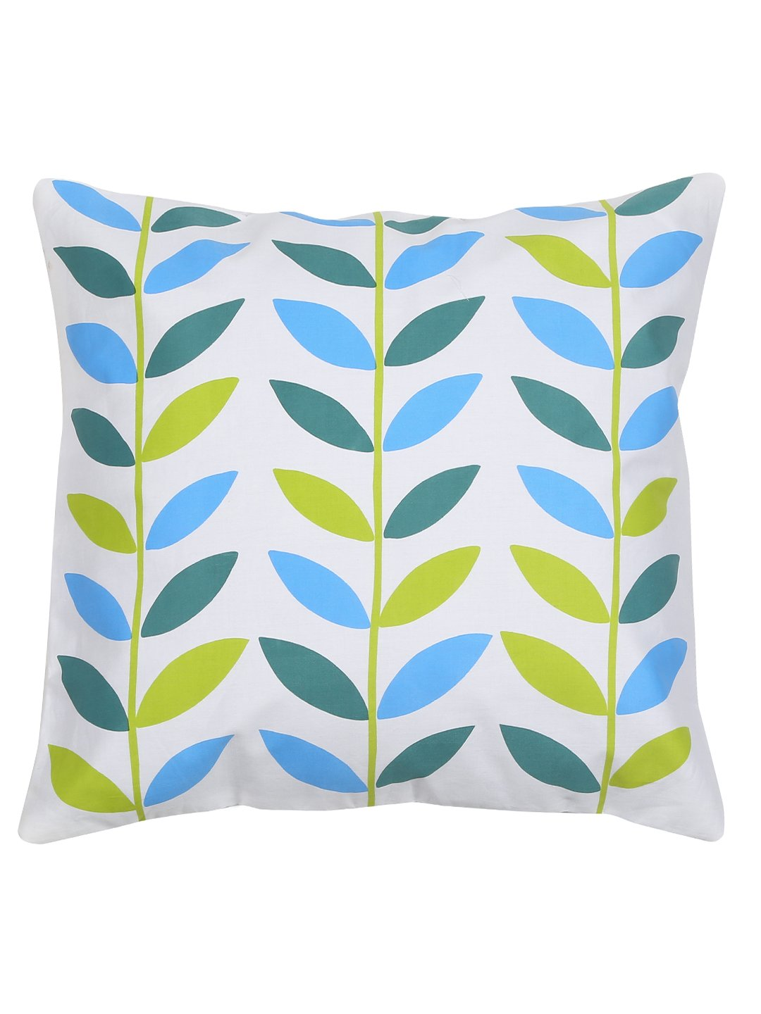 Handcrafted Spring Leaves Cushion Cover Set of 5
