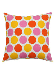 Handcrafted Geometric Polkas Cushion Covers (Set of 6)