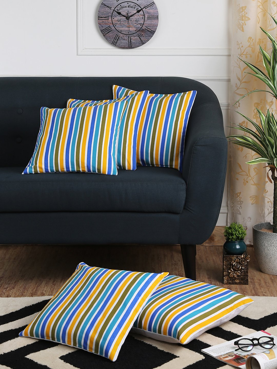 Geometrical Delight Cushion Covers