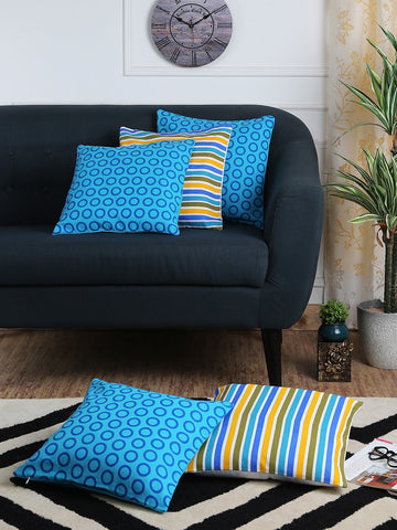 Handcrafted Geometrical Offer Cushion Covers (Set of 5)