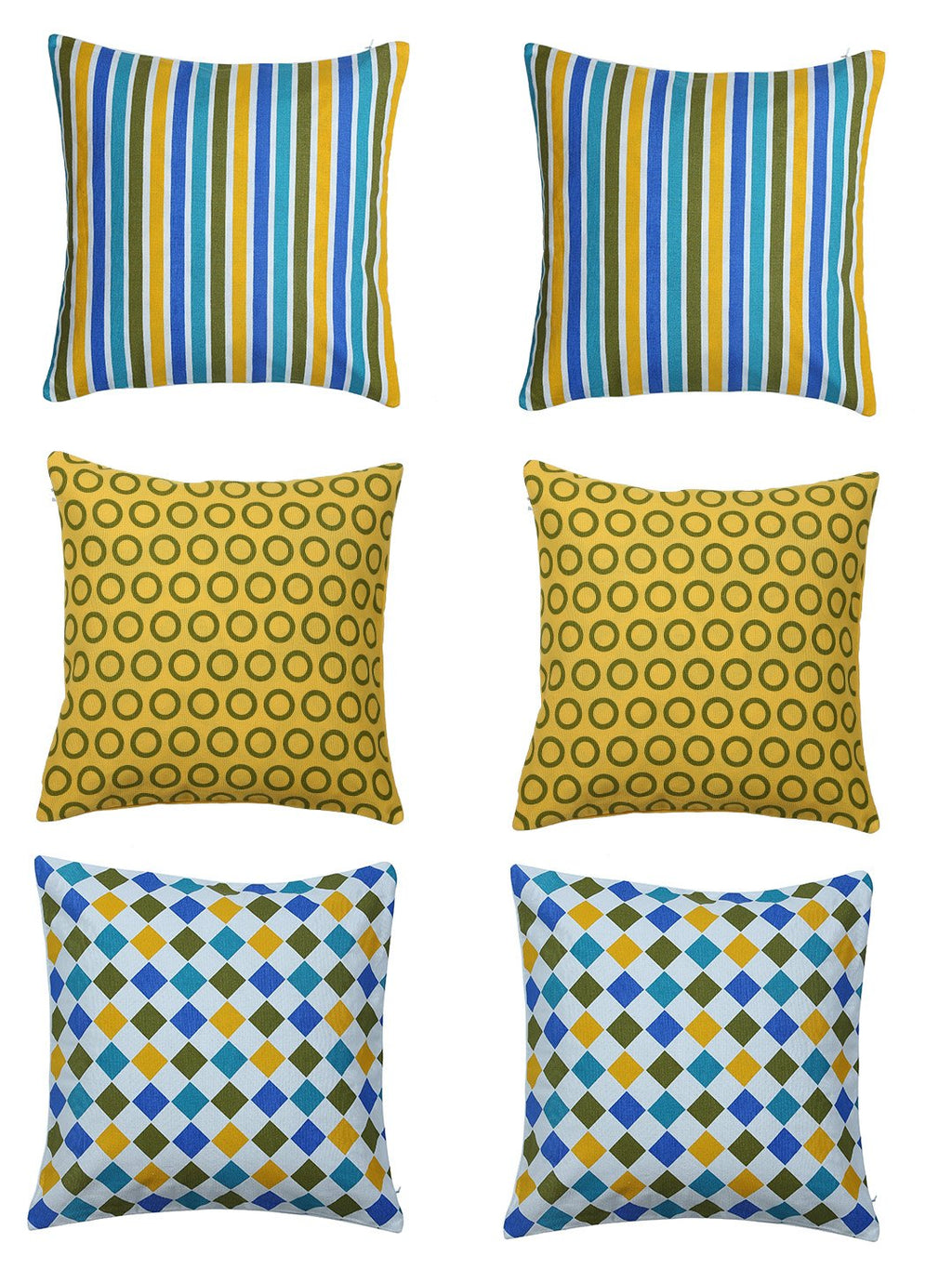 Geometrical Festival Cushion Covers