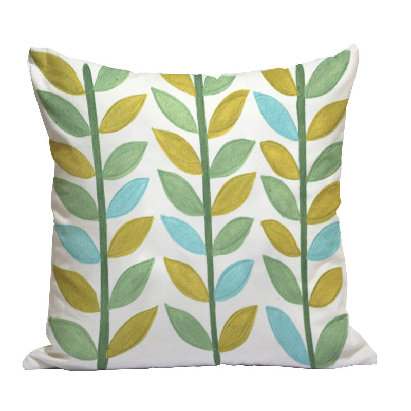 Handcrafted Spring Festival Cushion Cover