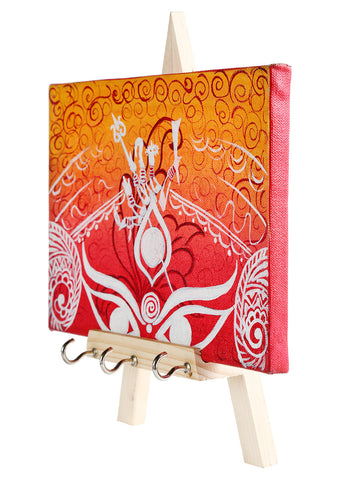 THE MAJESTIC DURGA KEYCHAIN HOLDER