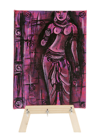 THE PINK AJANTA DECORATIVE KEYCHAIN HOLDER