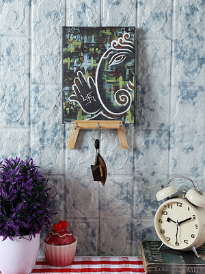 The Contemporary Ganesha  Key Holder by RANGRAGE