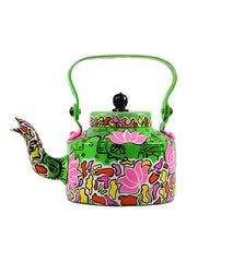 Hand-painted Glimpse of India Kettle