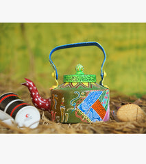 Hand-painted Arabic Elements Kettle - RANGRAGE