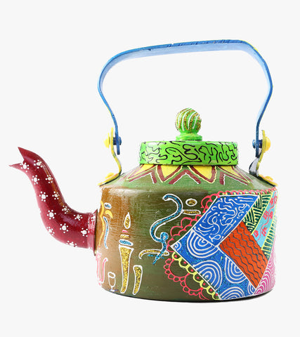 Hand-painted Arabic Elements Kettle