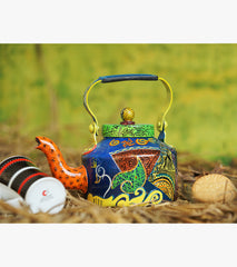 Hand-painted Arabic Calligraphy Kettle - RANGRAGE