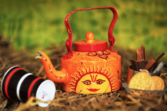 Hand-painted Sunny Side Kettle - RANGRAGE