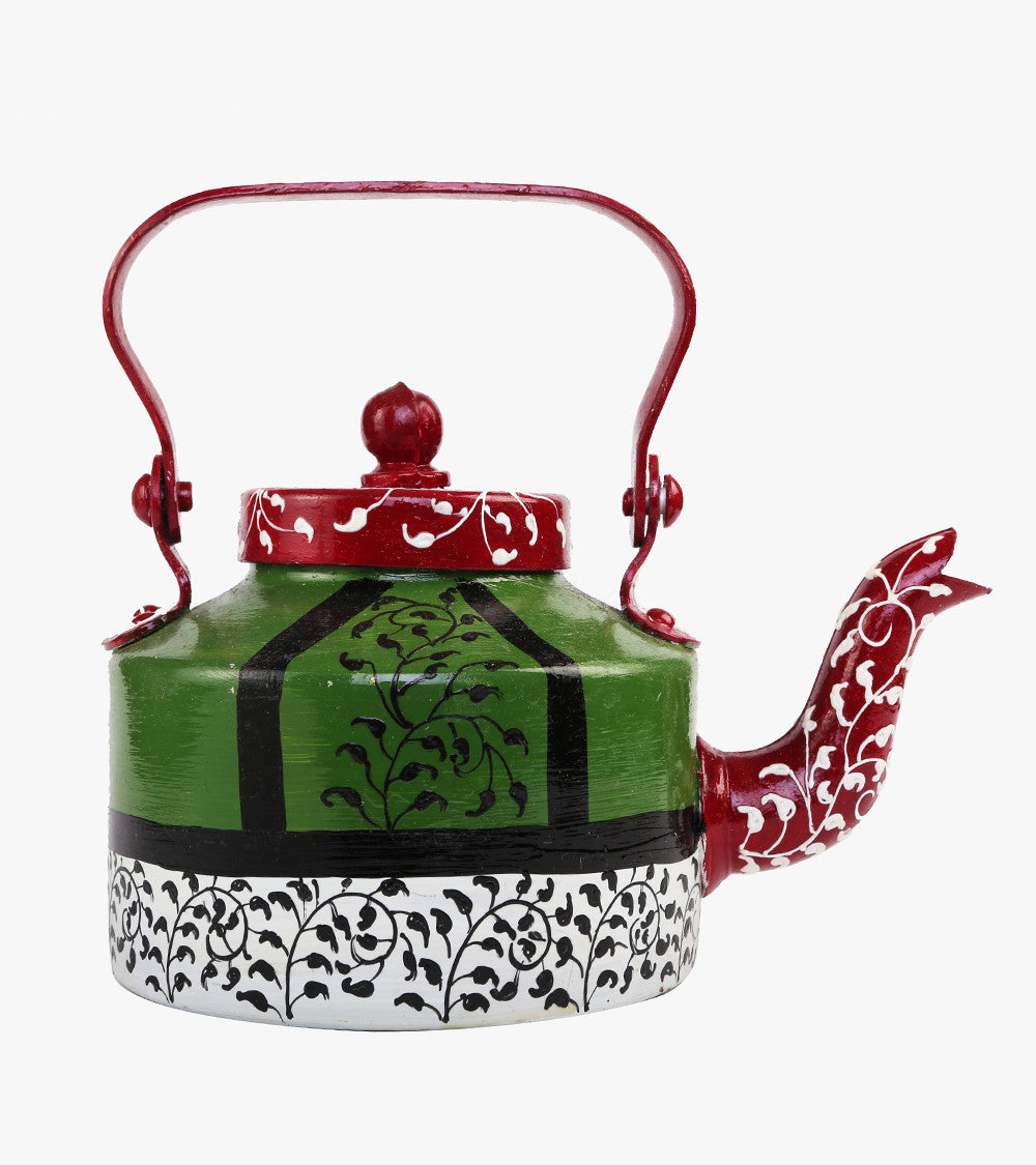 Hand-painted Paisley Kettle - RANGRAGE