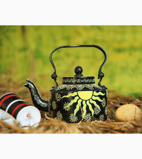 Hand-painted Serene Sun Kettle - RANGRAGE