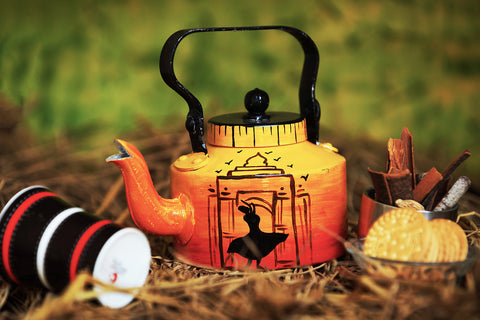 Hand-painted Dance of Hope kettle