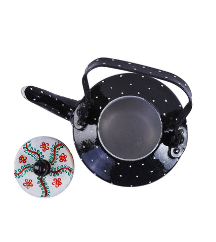 Hand-painted Mithila Magic Kettle