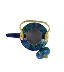 Hand-painted Swirly Warli kettle - RANGRAGE