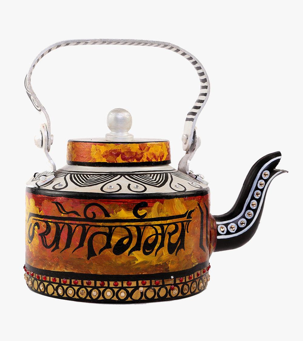 Hand-painted Mystic Shloka Kettle - RANGRAGE