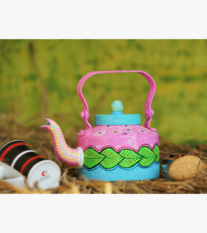 Hand-painted Placid Pastels Kettle