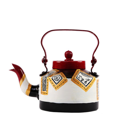 Hand-painted Classy Warli Kettle