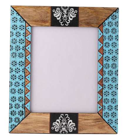 Hand-painted Autumn Aztec Photoframe