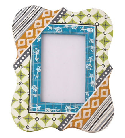 Hand-painted Wooden Classic Photoframe
