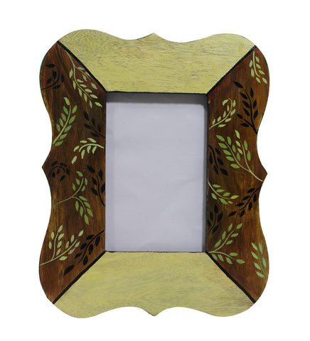 Hand-painted Green Spring Photoframe
