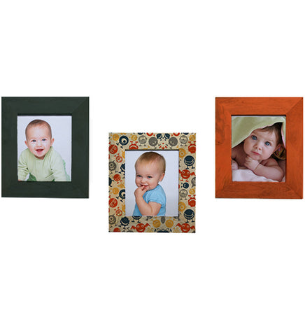 Handcrafted Cute Monster Mangowood Photoframes