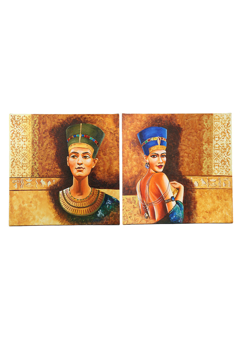 Hand-painted Egyptian Imperials Panel Painting - RANGRAGE